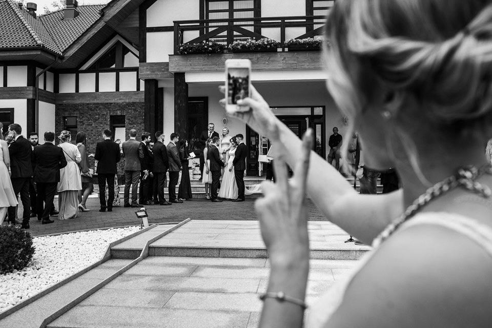ulotne momenty na weselu