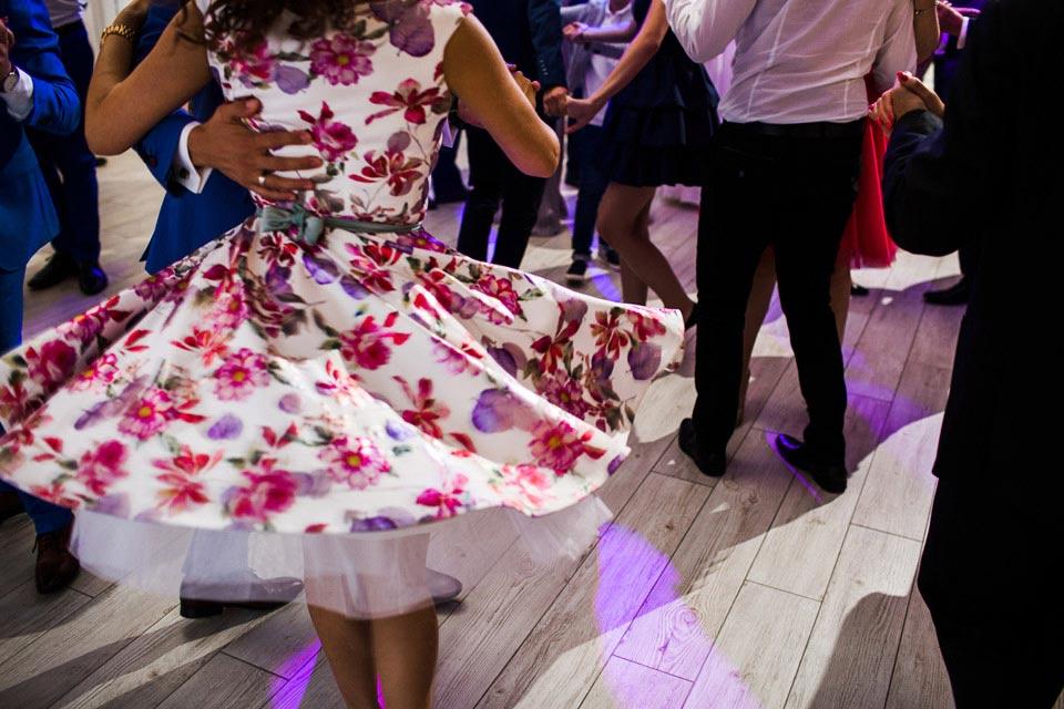 sukienka na wesele dla gościa
