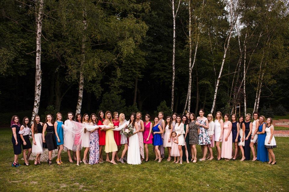 zdjęcia na weselu z koleżankami