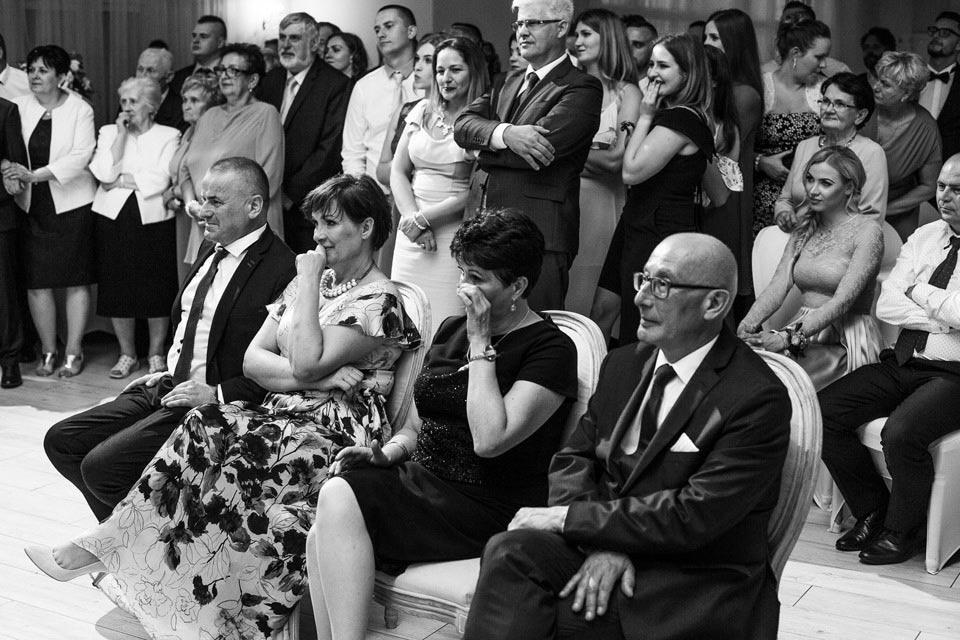 emocje na weselu