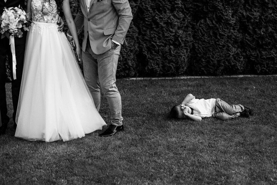 ślub pełen emocji