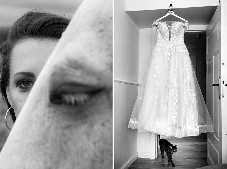 sesja ślubna z konmi