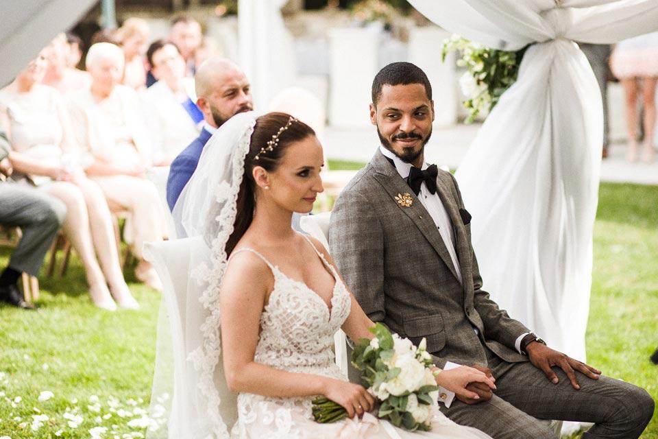 ślub w ogrodzie solei