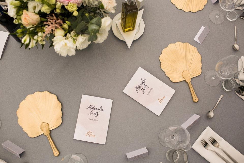 wachlarze na ślub