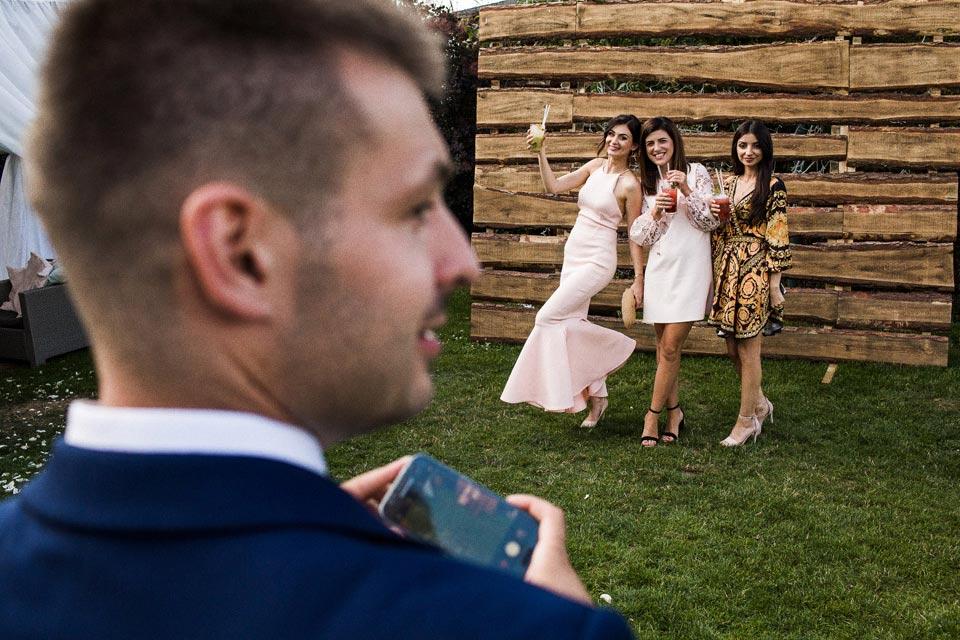 ścianka na zdjęcia na weselu