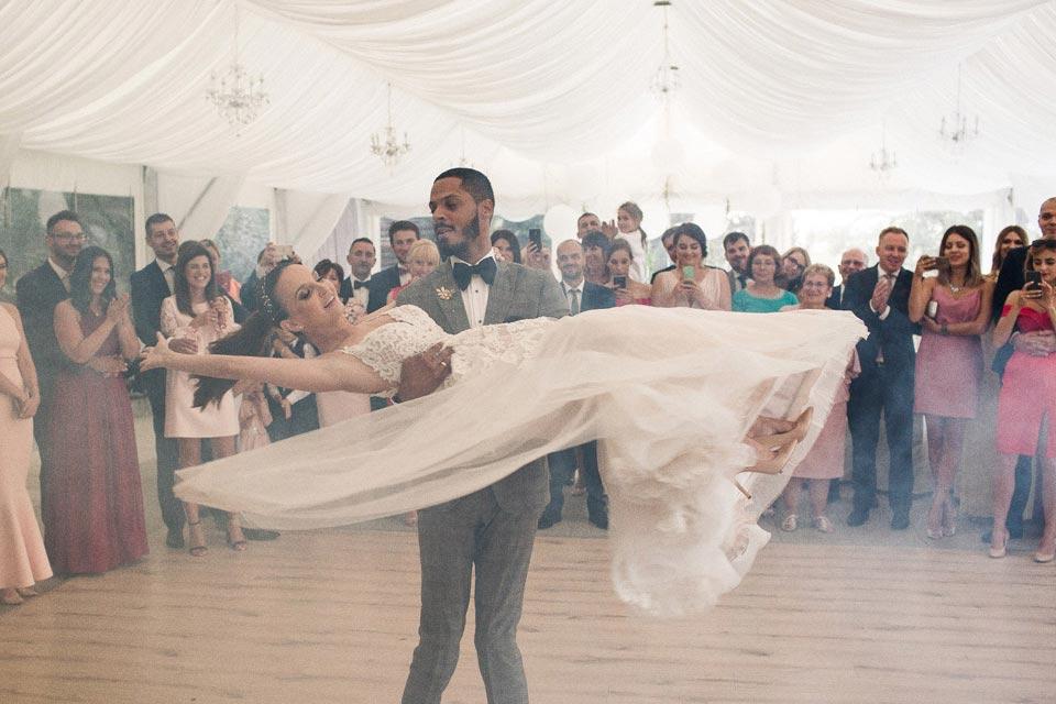figury podczas pierwszego tańca