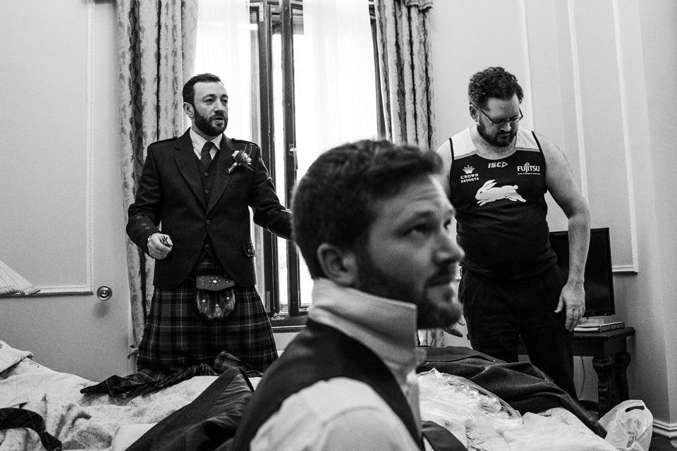 tradycyjny szkocki kilt