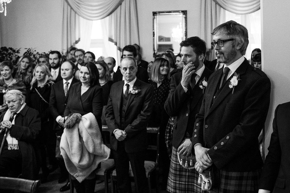 polsko szkocki ślub