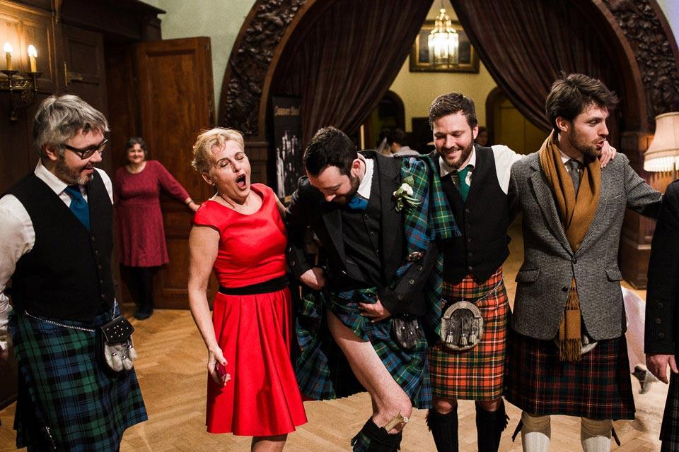 kilt szkocki do ślubu