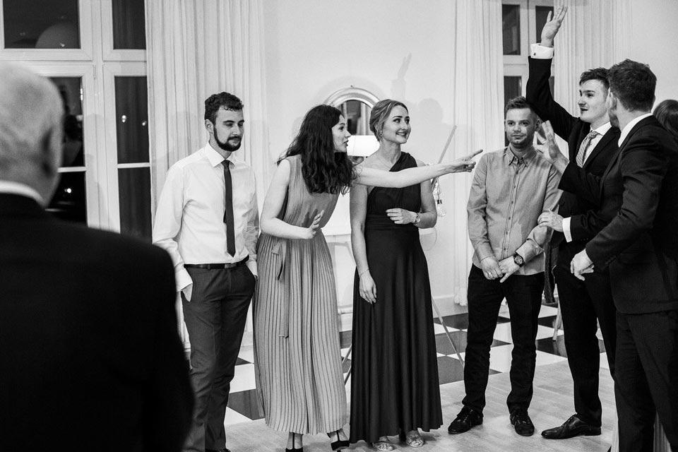 dynamiczne zdjęci ślubne