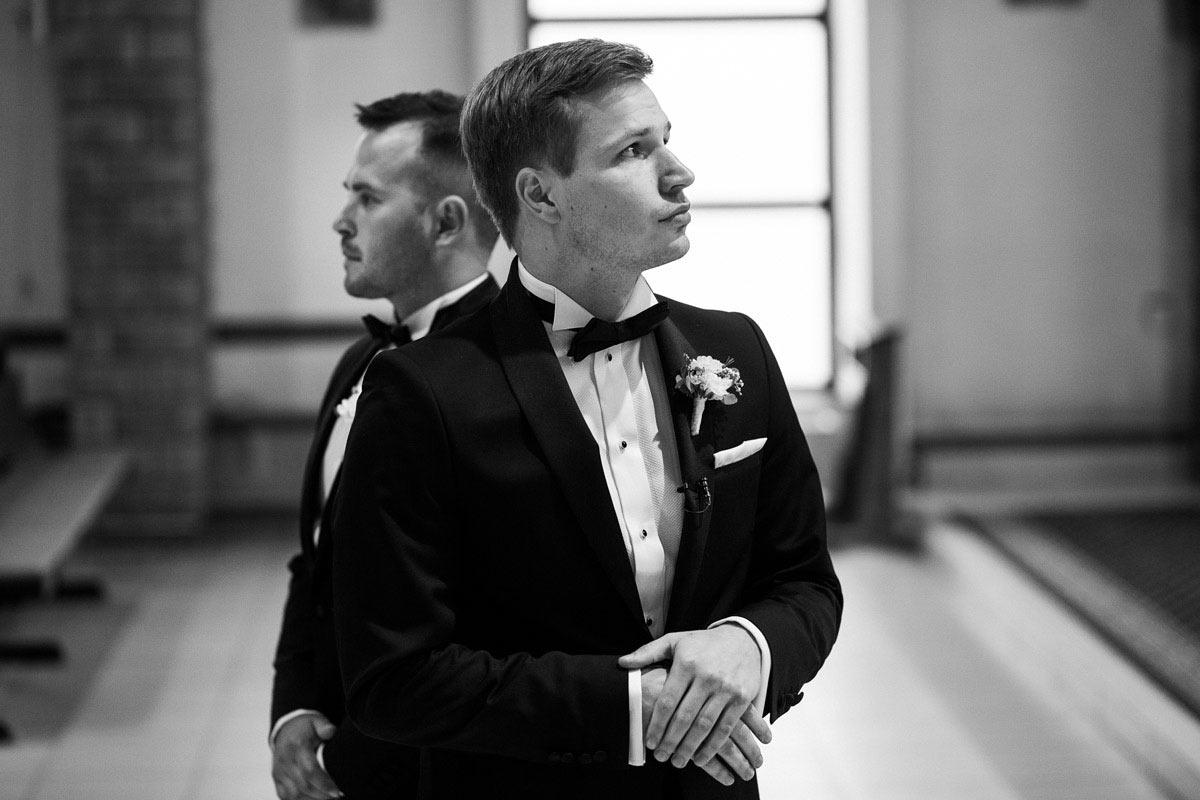 reportaż ze ślubu w małym kościółku w Szczecinku