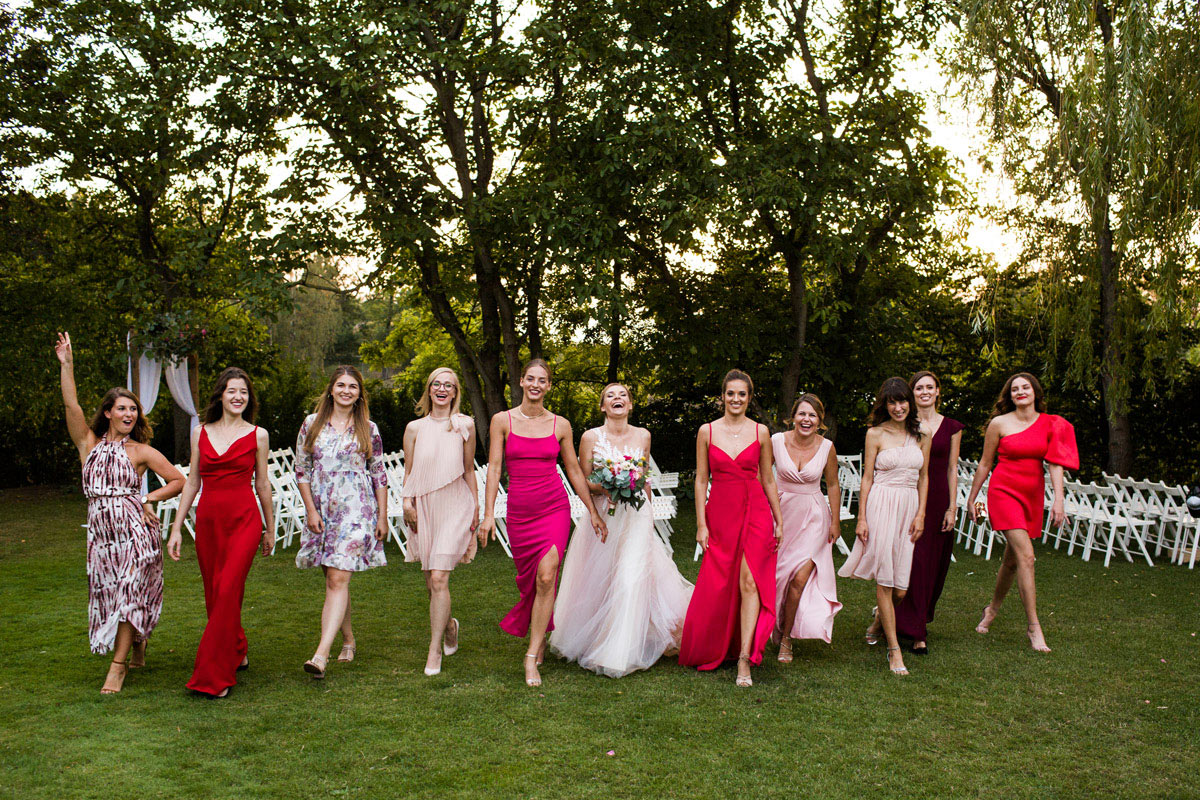 zdjecia grupowe na weselu