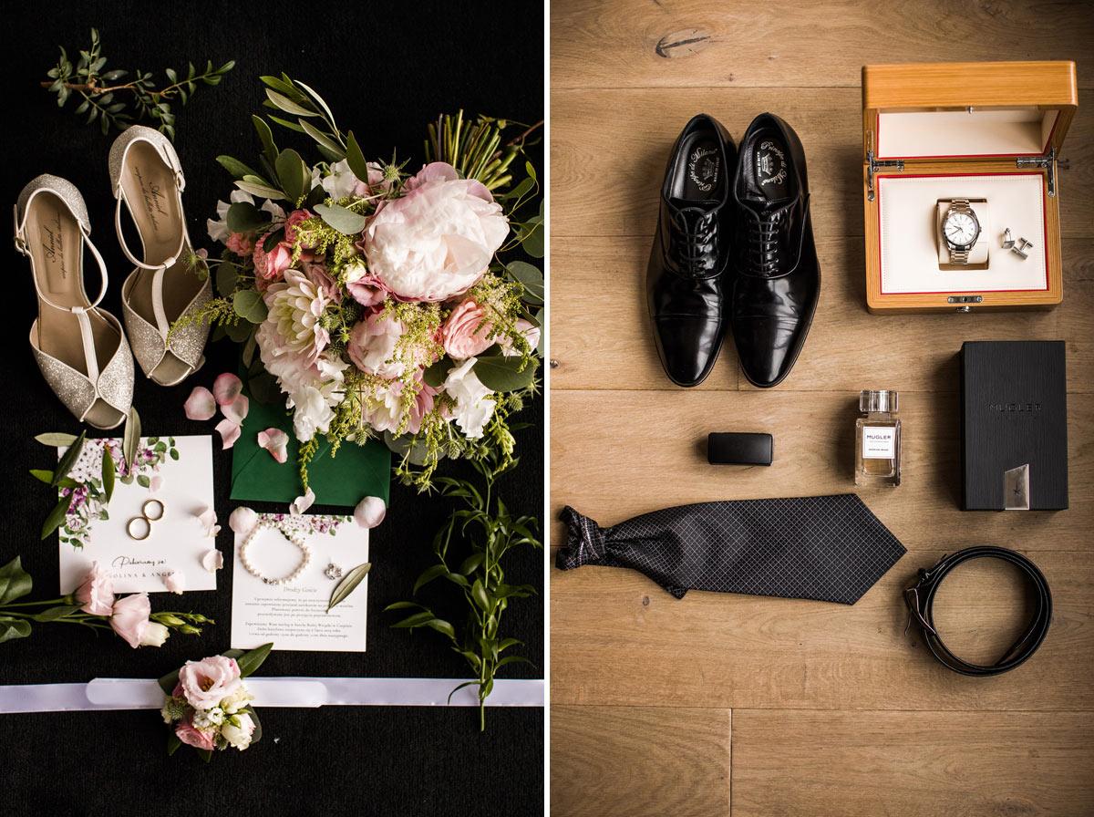 piękne dodatki do ślubu
