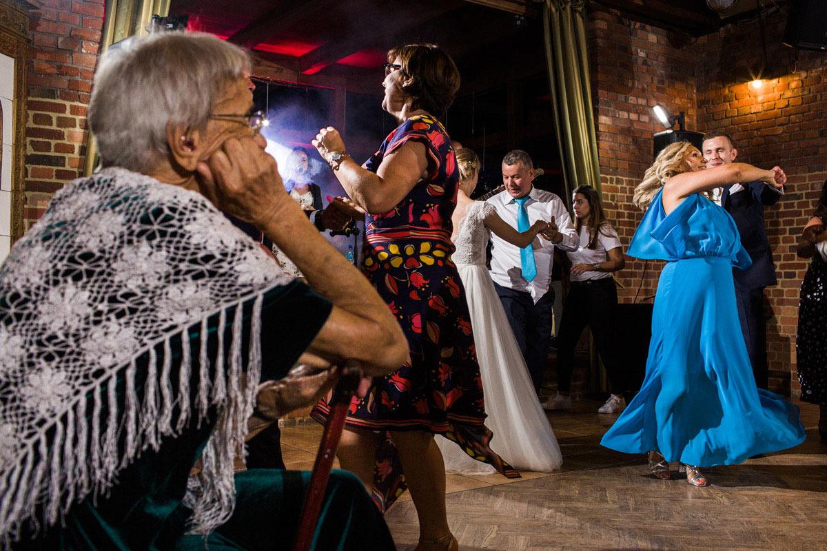 babcie na weselu