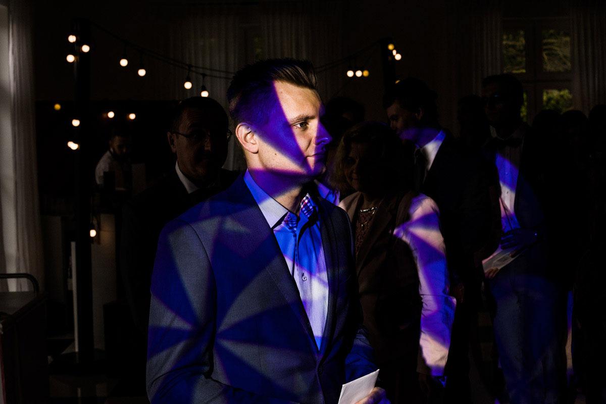światło na imprezie