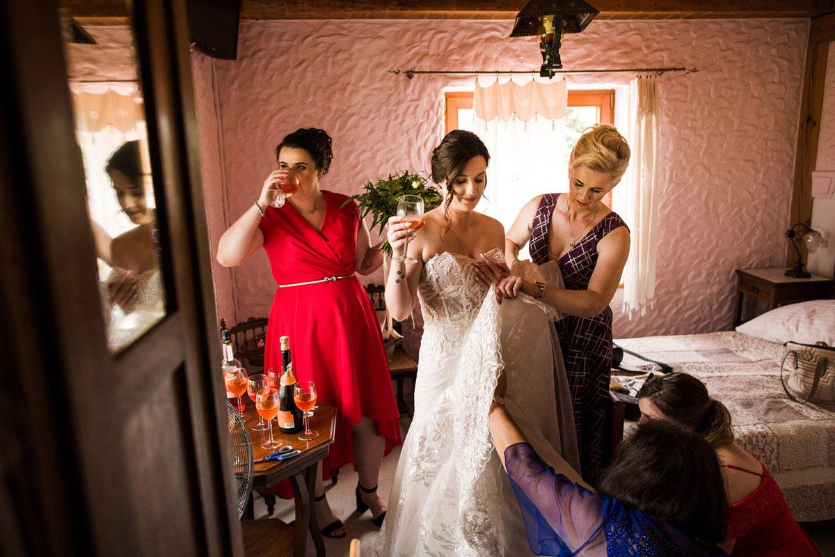 ślub na luzie