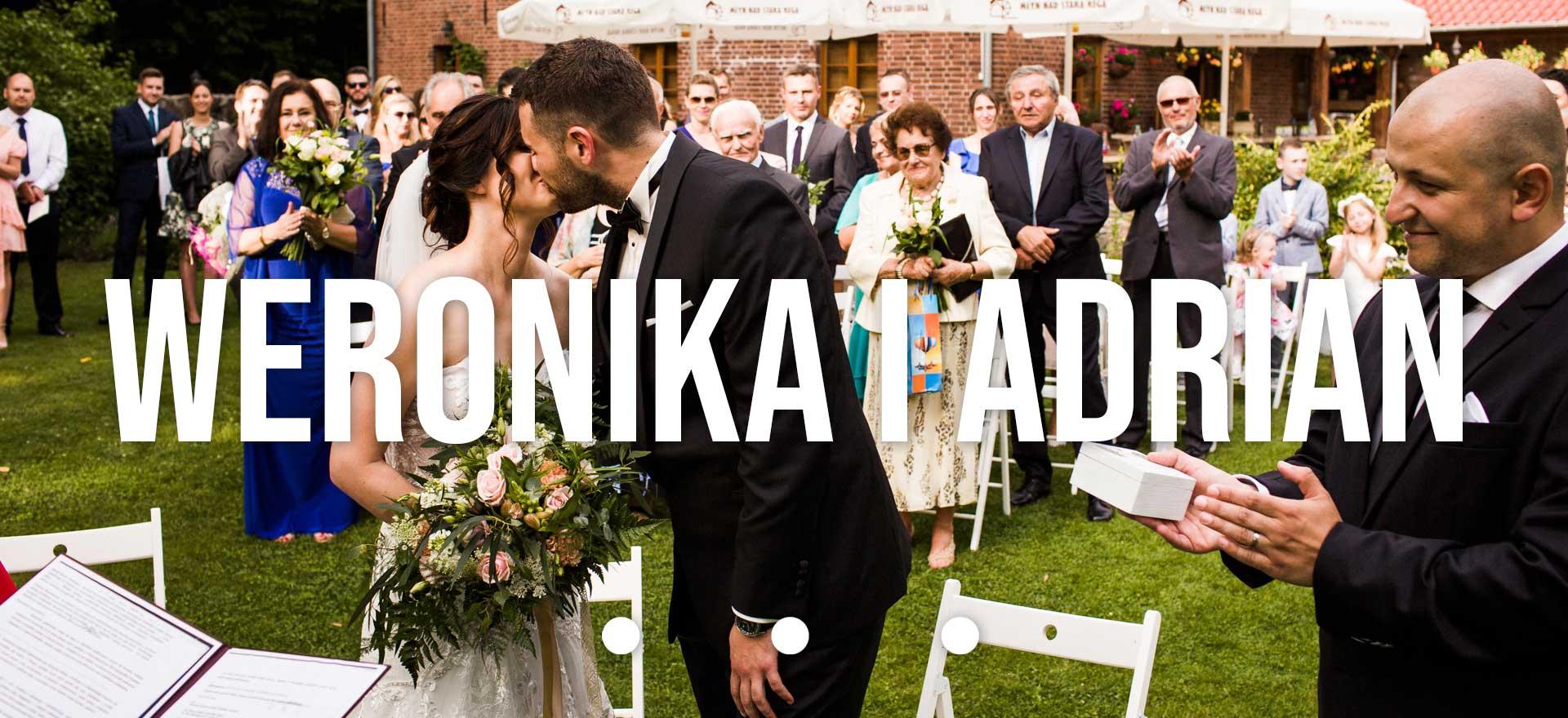 ślub w plenerze młyn nad starą regą
