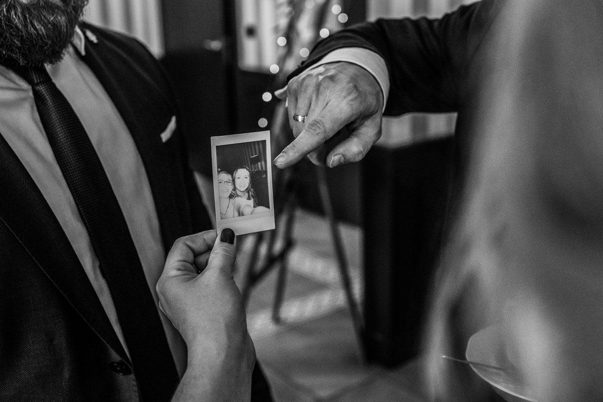 reportaż na ślubie