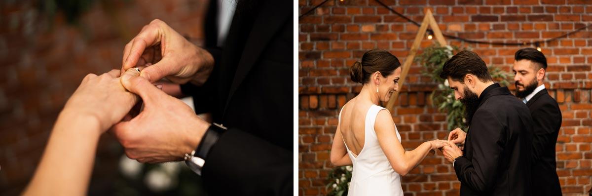 ślub cywilny w małym młynie